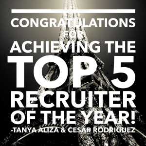 tanya aliza top recruiter