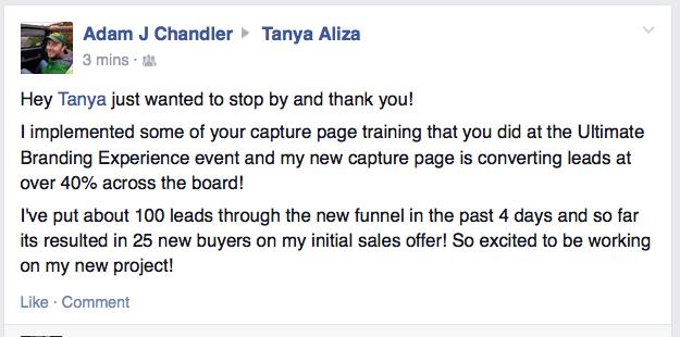 Adma Chandler Ultimate Branding Experience Testi