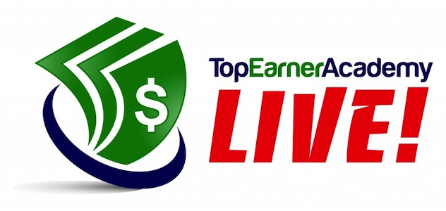 top earner academy live