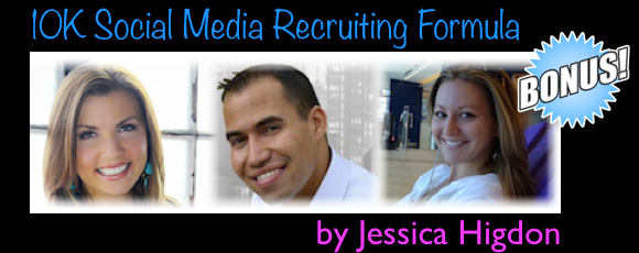 10k social media recruiting formula