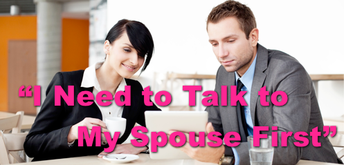 Objection Handling Training: I Have to Talk to My Spouse First
