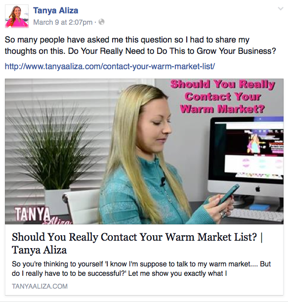 how to use facebook to market my business
