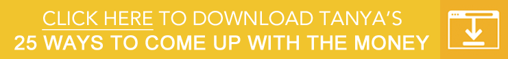 25 ways to come up with the money yellow download button