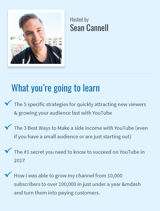 Sean Cannell Shares His Best YouTube Marketing Tips To Grow Your Business Fast Using Video