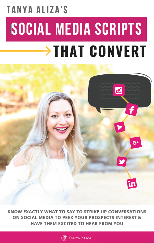 Social Media Scripts That Convert Freebie