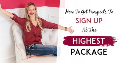 Network Marketing Success - Get Your Reps Started On The Highest Package