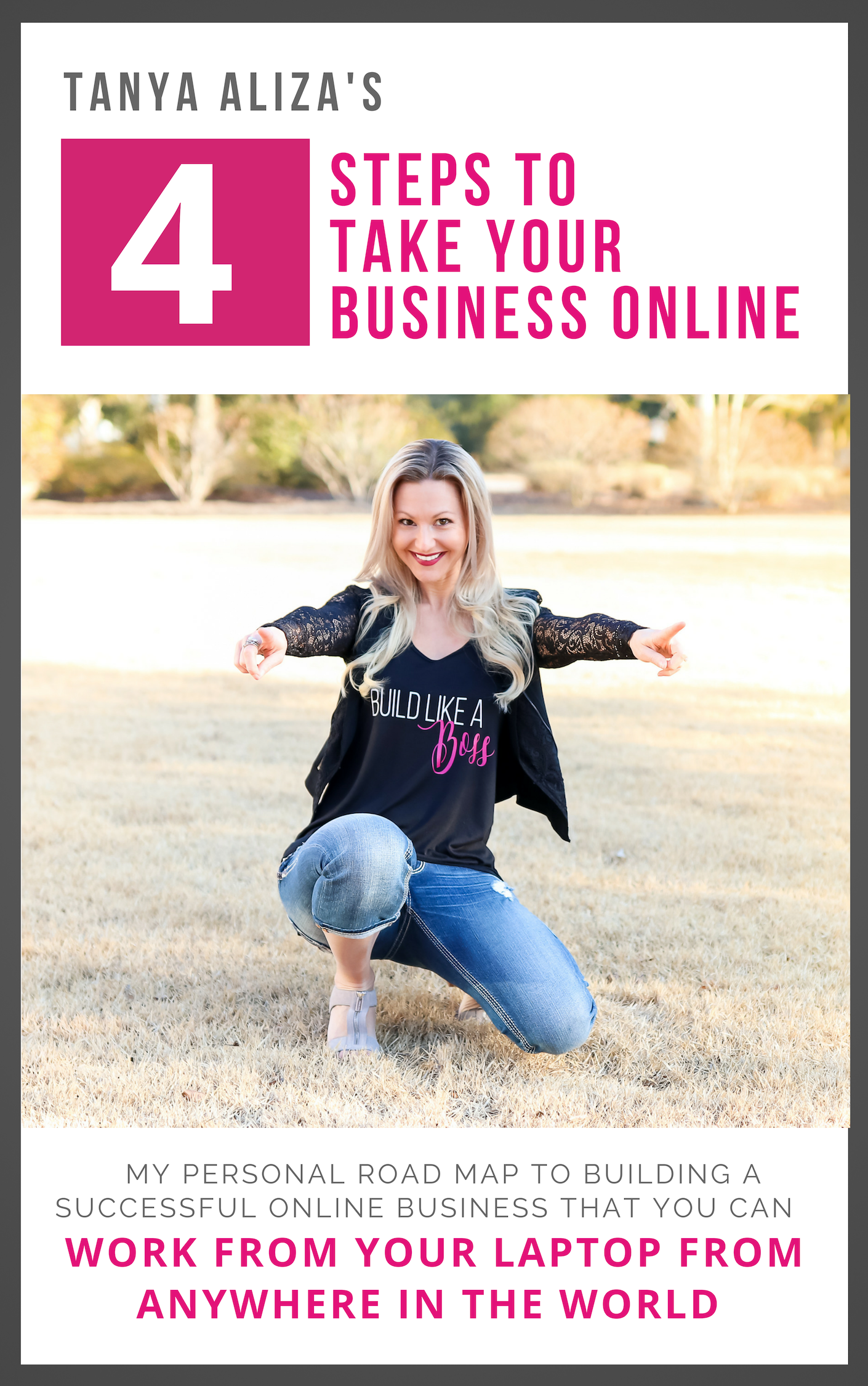 Tanya's 4 Steps To Taking Your Business Online