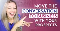 Network Marketing Training - How To Transition A Conversation To Business When Talking To Someone
