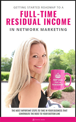 My Network Marketing Roadmap To A Full-Time Residual Income