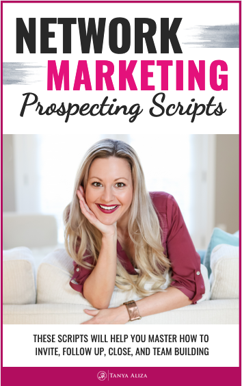 My network marketing prospecting scripts