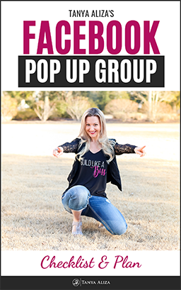 Facebook Pop Up Group Checklist & Guide
