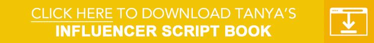 Influencers Recruiting Script Book Blog-Button