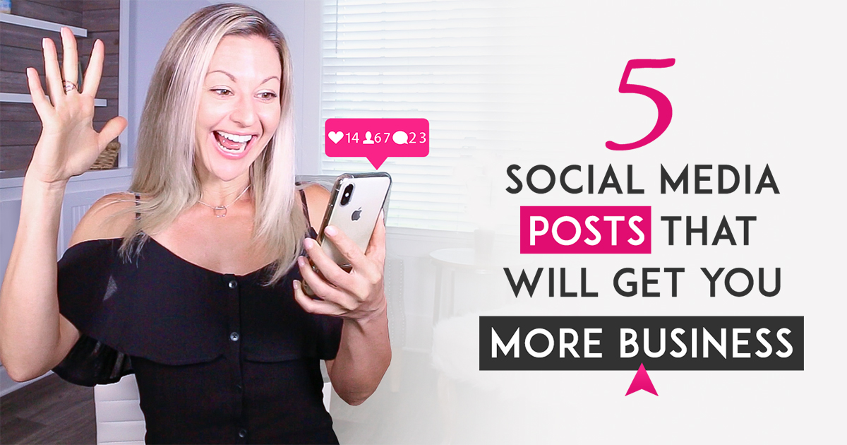 5 Engaging Social Media Post Ideas That Will Get You More Business