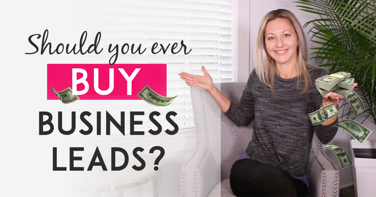 Why I Don't Think Buying Business Leads Is A Good Idea-Blog