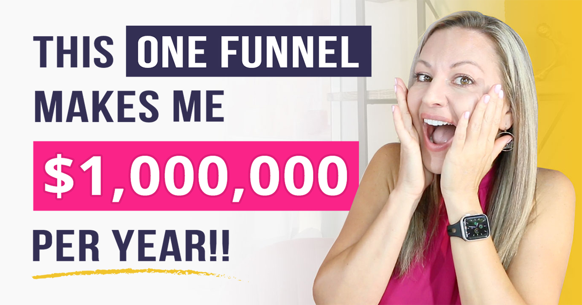 How This One Marketing Funnel Makes Me $1 Million Dollars Per Year