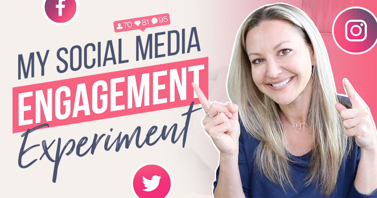 My 4 Step Social Media Engagement Strategy (BEAT The Algorithm)